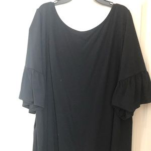 Lane Bryant Top with Bell Sleeves